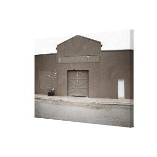 Storage Building, Marfa, Presidio County, West Canvas Print