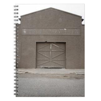 Storage Building, Marfa, Presidio County, West Notebook