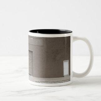 Storage Building, Marfa, Presidio County, West Two-Tone Coffee Mug