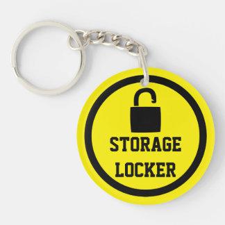 Storage Lock Easy To Locate Keychain