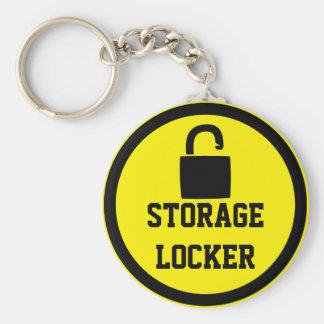 Storage Locker Keychain