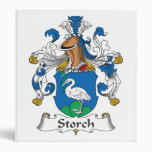 Storch Family Crest 3 Ring Binder
