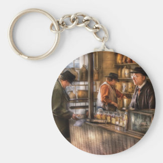 Store - Ah, Customers Basic Round Button Keychain