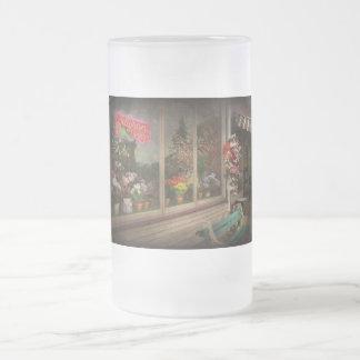 Store - Belvidere, NJ - Fragrant Designs Frosted Glass Beer Mug