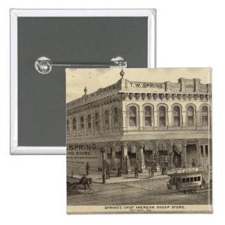 Store, brewery, San Jose Pinback Button
