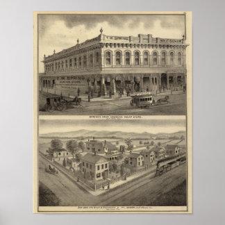 Store, brewery, San Jose Print