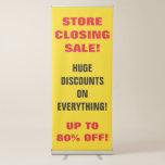[ Thumbnail: Store Closing Sale Vertical Banner ]