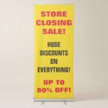 [ Thumbnail: Store Closing Sale Vertical Banner ]