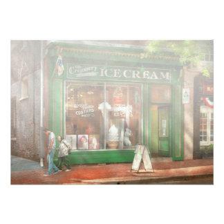 Store Front - Alexandria, VA - The Creamery Custom Invitation
