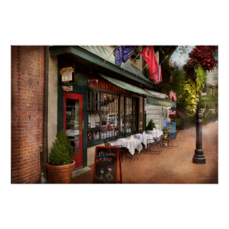Store Front - Annapolis MD - Harry Brownes Poster