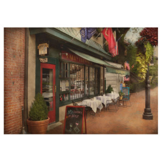 Store Front - Annapolis MD - Harry Brownes Wood Poster