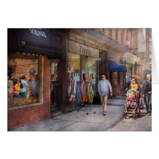 Store Front - Hoboken, NJ - People Card