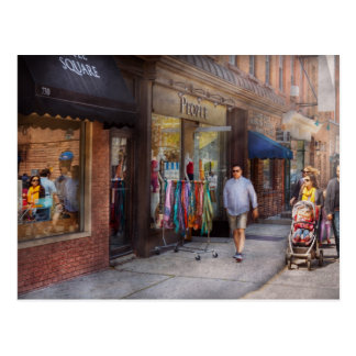 Store Front - Hoboken, NJ - People Postcard