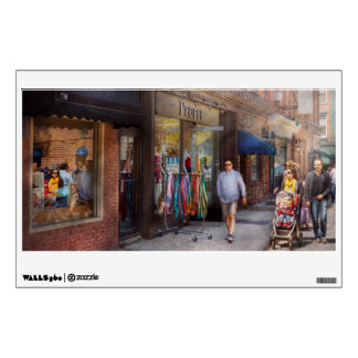 Store Front - Hoboken, NJ - People Wall Decal