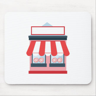 store front mouse pad