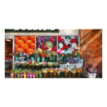 Store Front - The flower stand Customized Photo Card