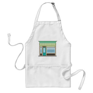 Store Front Vector Adult Apron