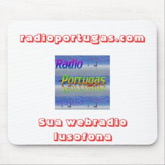 store I radiate, radioportugas.com, Its webradio l Mouse Pad
