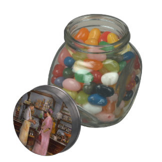 Store - In a general store 1917 Glass Candy Jars