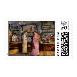 Store - In a general store 1917 Postage