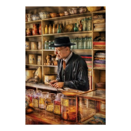 Store - In the General Store Print