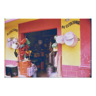 Store in the Yucatan Print