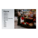 Store - NY - Chelsea - Fresh fruit stand Business Card Templates