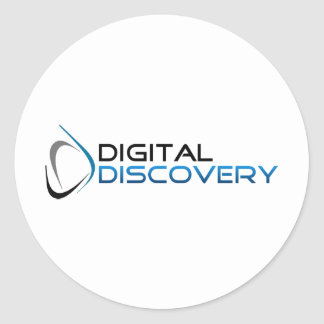 Store of the Digital Site Discovery Classic Round Sticker