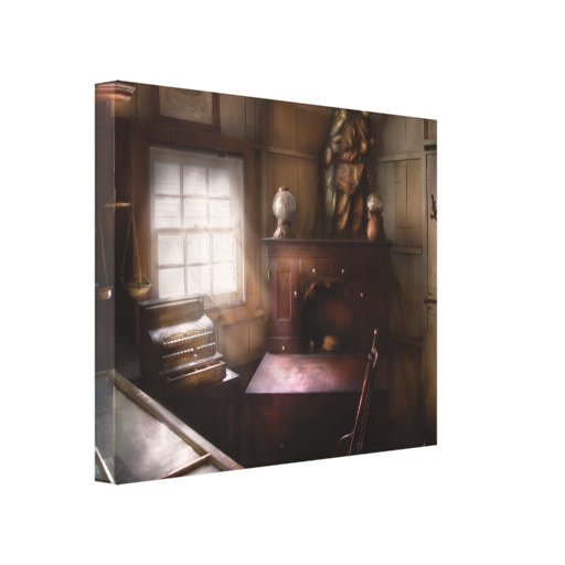 Store - Pawn - In the Pawn Shop Canvas Print