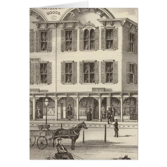 Store property of Wainright & Errickson Card