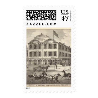 Store property of Wainright & Errickson Postage