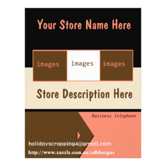 Store Template Flyer Design