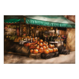 Store - The Fruit Market Poster