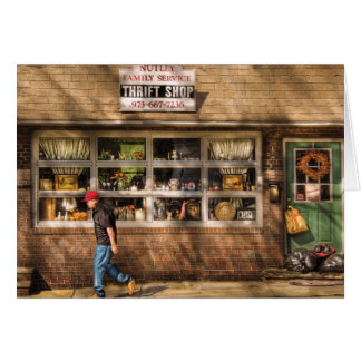 Store -  The Thrift Shop Greeting Card