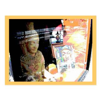 Store Window Postcard