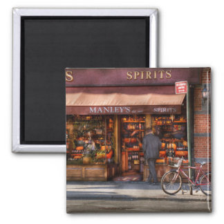 Store - Wine - Wines and Spirits Est 1934 2 Inch Square Magnet