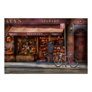 Store - Wine - Wines and Spirits Est 1934 Poster