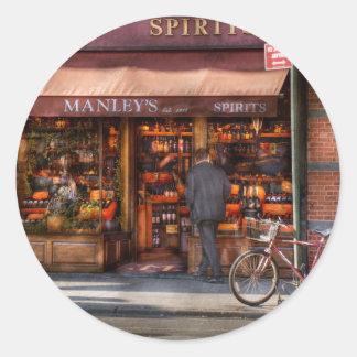 Store - Wine - Wines and Spirits Est 1934 Classic Round Sticker