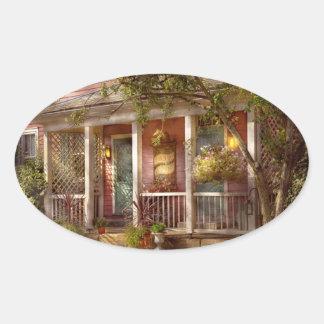 Store - Zoar, OH - The cobbler shop Oval Sticker