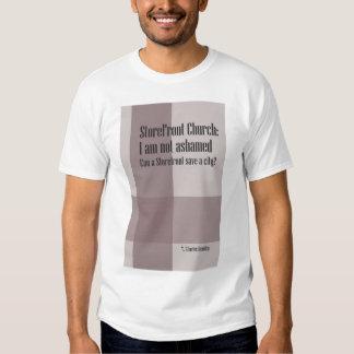 StoreFront Church Poster T-shirt