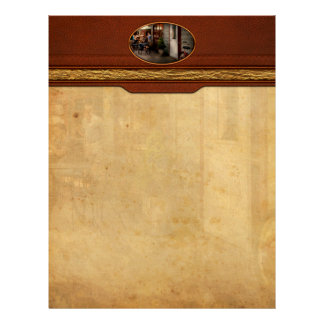 Storefront - Frenchtown, NJ - At a quaint Bistro Letterhead Template