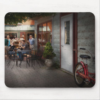 Storefront - Frenchtown, NJ - At a quaint Bistro Mousepad