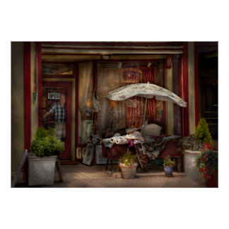 Storefront - Frenchtown, NJ - The Boutique Poster