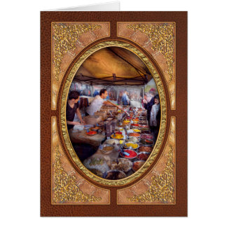 Storefront - The open air Tea & Spice market Greeting Card