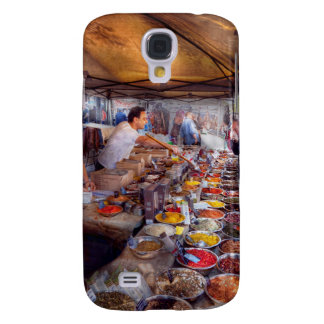 Storefront - The open air Tea & Spice market Galaxy S4 Cases