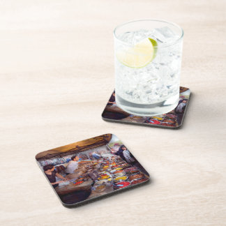 Storefront - The open air Tea & Spice market Coasters