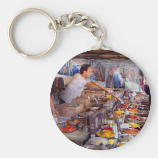Storefront - The open air Tea & Spice market Key Chains
