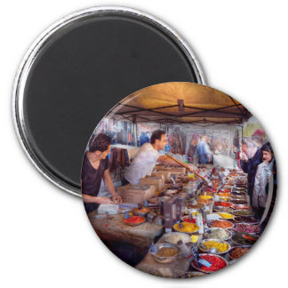 Storefront - The open air Tea & Spice market Magnet