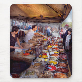 Storefront - The open air Tea & Spice market Mouse Pad