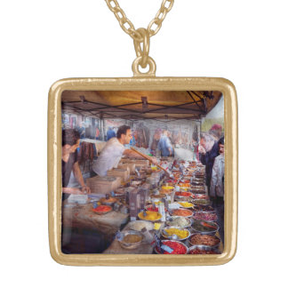 Storefront - The open air Tea & Spice market Personalized Necklace